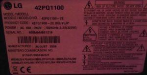 LG 42PQ1100