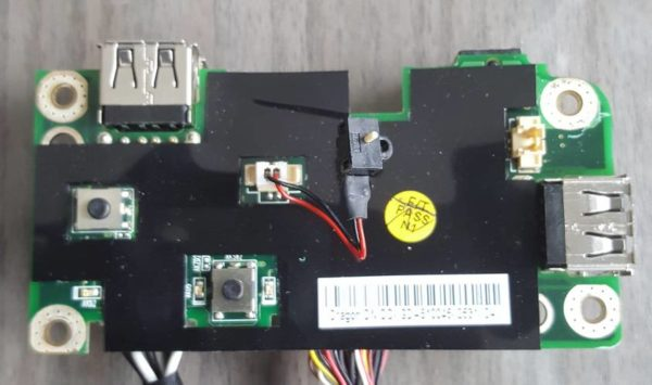 CARTE ALIMENTATION + USB PACKARD BELL EASYNOTE SW61-202W