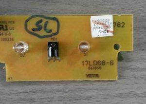 Carte Récepteur IR TUCSON TL32HD782 Référence: 17DL68-6