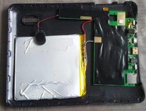 Ensemble Carte Mère+Batterie Tablette MAN MP888