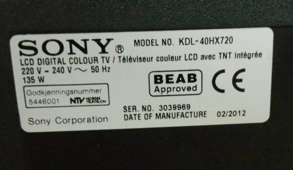 KDL-40HX720