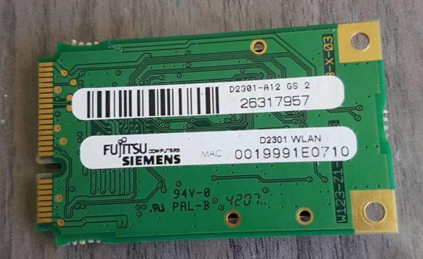 Carte WIFI FUJITSU X2528-P5204