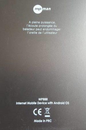 MP MAN MP888