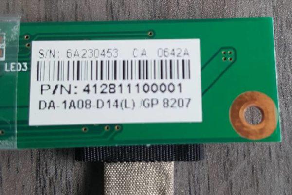 Nappe écran+ Carte PACKARD BELL EASYNOTE SW61-202W