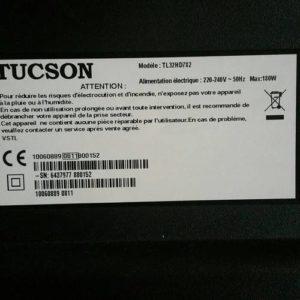 Lot de 2 Haut Parleurs Télé TUCSON TL32HD782 Référence: 30053851