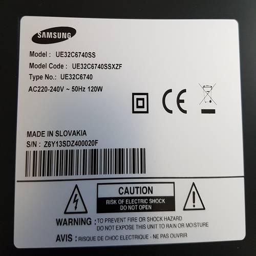 SAMSUNG UE32C6740SS