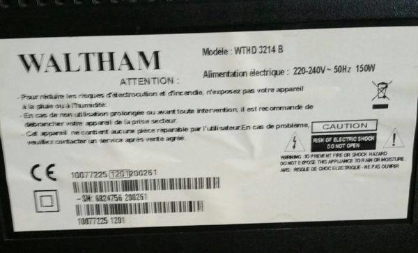 WALTHAM WTHD3214B