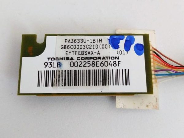Carte BLUETOOTH TOSHIBA SATELLITE A300-262